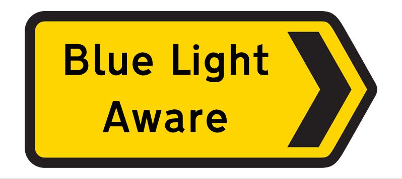 Blue Light Aware