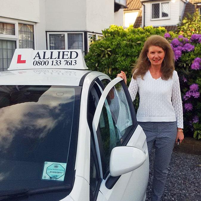 Driving Instructor Inge
