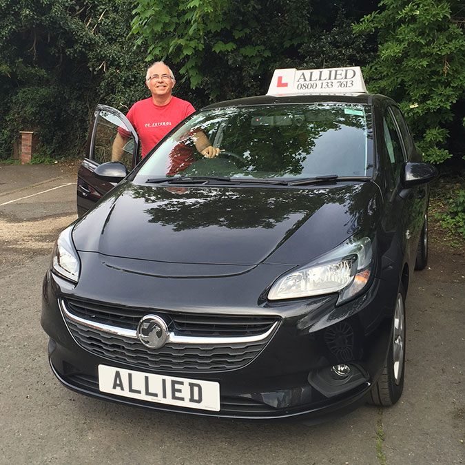 Allied Driving Instructor Rob
