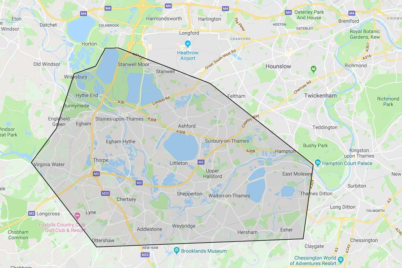 Area Map Ricky